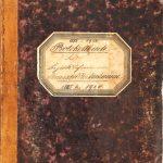 Protokollbuch 1885-1920