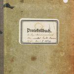 Protokollbuch 1920-1936