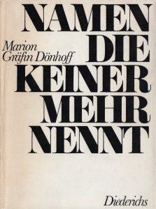 Buchcover des Buches von Dönhoff